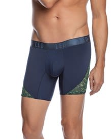 leo cool mesh sport boxer brief-060- Gray-MainImage