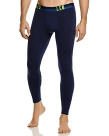 leo fitted long underwear-510- Dark Blue/Neon Green-MainImage