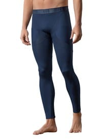 mens activelife seamless moderate compression legging-509- Blue-MainImage