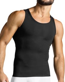 mens compression tank top - cotton blend--MainImage