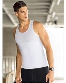 camiseta atletica leo con extra control en abdomen-000- White-MainImage