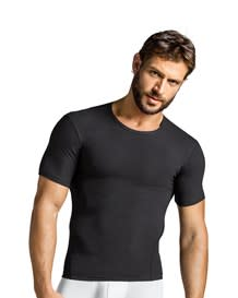 camiseta deportiva de compresion-700- Black-MainImage