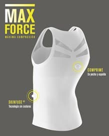 camiseta atletica de maxima compresion-000- White-MainImage