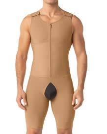 leo post-surgical compression bodysuit-880- Beige-MainImage