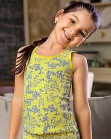 camiseta en algodon con espalda deportiva-101- Yellow-MainImage