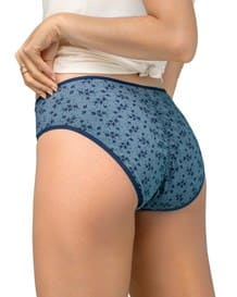 paquete x 3 panties tipo bikini en algodon con total cubrimiento-S11- Assorted Flowers-MainImage