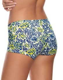 3 boyshorts in stretch cotton with good coverage-S12- Kaleidoscopic Print-MainImage