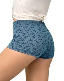 paquete x 3 boxers con excelente cubrimiento de cola y abdomen-S13- Assorted Flowers-MainImage
