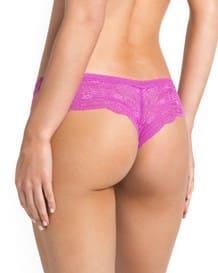 paquete x 2 calzones cacheteros en encaje y tul-S17- Pink/Gray-MainImage