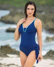 traje de bano entero con falda incorporada-549- Blue-MainImage