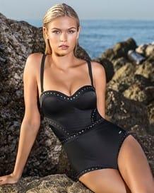 vestido de bano entero con apliques plateados-700- Black-MainImage