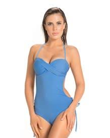 trikini con escote drapeado--MainImage