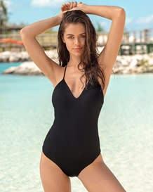 vestido de bano con escote profundo en espalda-700- Black-MainImage