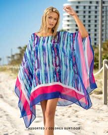 vestido de playa tipo poncho en transprencias-998- Assorted-MainImage