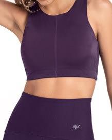 top deportivo estilo high neck-419- Dark Purple-MainImage
