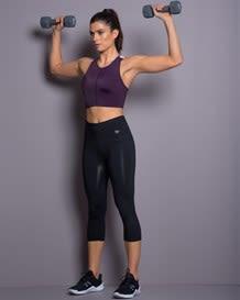 strappy high neck sports bra - activelife--MainImage