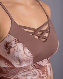 strappy longline sports bra - activelife--MainImage
