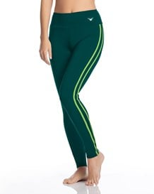 pantalon deportivo de control ideal para el gimnasio-691- Green-MainImage