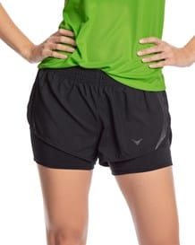 short deportivo de silueta ancha con short interno ajustado-700- Black-MainImage