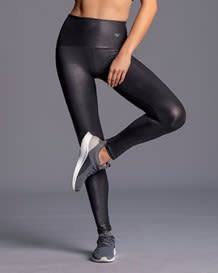 legging largo de control con efecto de cuero-700- Black-MainImage