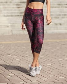 activelife mid-rise graphic capri legging-450- Purple-MainImage