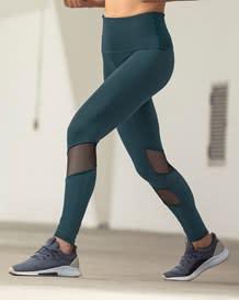 midrise mesh cutout shaper legging - activelife--MainImage