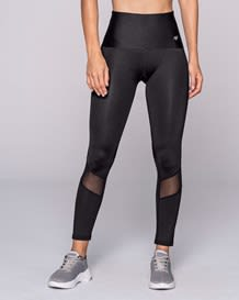 activelife midrise mesh cutout shaper legging-700- Black-MainImage