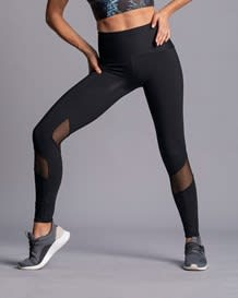 activelife wraparound mesh shaper legging-700- Black-MainImage