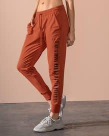 sudadera tipo jogger con elastico en cintura y bolsillos delanteros-221- Terracota-MainImage
