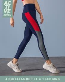 legging deportivo de control suave en cintura elaborado en pet reciclado-509- Azul Oscuro-MainImage