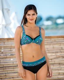 pacific dreams back smoothing triangle bikini swimsuit--MainImage