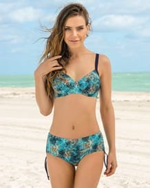 structured bikini with adjustable bottom-572- Blue-MainImage
