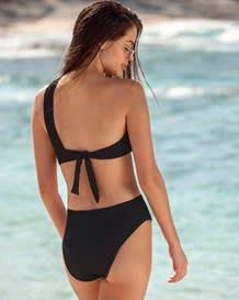 vestido de bano tipo bandeau con varillas laterales en copas para una mejor modelacion-700- Black-MainImage