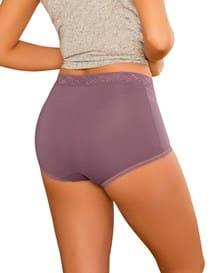 3 full hi-waist brief panties-S08- Assorted-MainImage