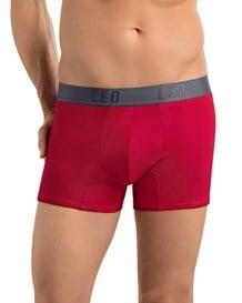 paquete por 2 boxers cortos leo en algodon elastico-S29- Blue/Red-MainImage