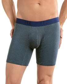paquete x 2 boxers largos en algodon ajustado-S34- Red/Gray-MainImage