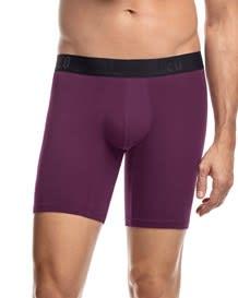 paquete x 2 boxers largos en algodon ajustado-S38- Blue/Wine-MainImage