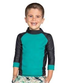 camisa manga larga de piscina para nino-912- Blue-MainImage