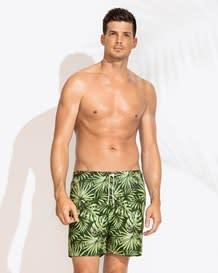 pantaloneta para hombre estampada-691- Green-MainImage
