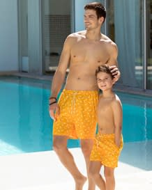 lockere badehose mit muster-203- Yellow-MainImage