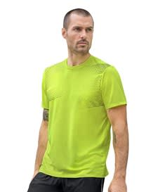 camiseta basica deportiva estampada-602- Neon Green-MainImage