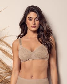 wireless comfy control bra in lace--MainImage