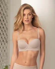 natural underwire push up bra--MainImage