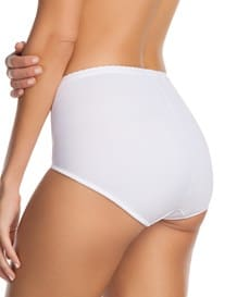 comfy control hi-waist brief panty-000- White-MainImage