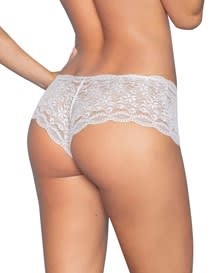 hiphugger style panty in modern lace-003- White-MainImage