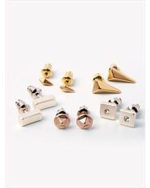 set x 5 aretes estilo topitos-123- Gold-MainImage