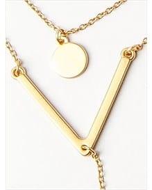 collar con pendulo y bano de oro-123- Gold-AlternateView1
