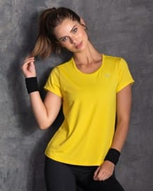 camiseta deportiva en material transpirable-121- Yellow-MainImage