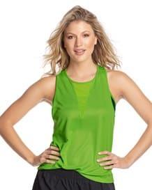 camiseta deportiva manga sisa con transparencia-686- Green-MainImage