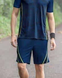 pantaloneta deportiva silueta amplia-457- Blue-MainImage